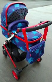 Cosatto Wish Air Pram/Pushcair in Excellent Condition