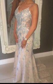 Embellished Formal Dress - Size 8