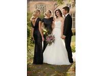 Brand new never worn wedding dress Essence of Australia D2029 size U.K. 9