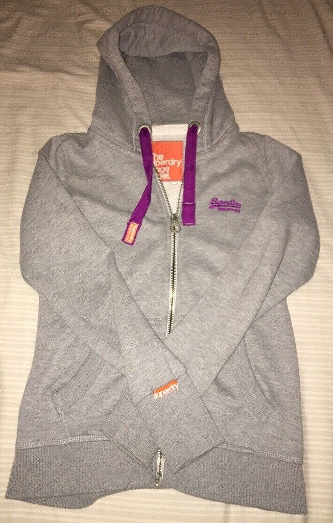 Women's Superdry Hoodie In Size Small
