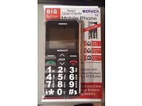 SONICA BIG BUTTON S1 UNLOCKED PHONE UNLOCKED WITH RECEIPT