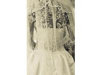 Stunning bespoke wedding dress size 8