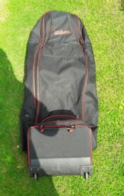 Large Wilson Zipped Golf Bag