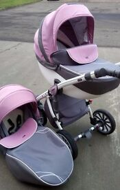 Anex Sport Pram and Pushchair in Excellent Condition