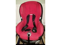 Maxi cosy child car seat 9-18kg. 9 months to 4 years