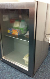 Original Coca Cola Fridge - Stainless Steel Glass Fronted (Number 7797478)