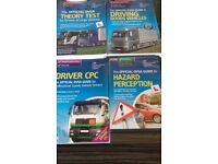 Driver books/dvds