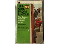 'The Girl From Uncle' No.3 Paperback 'The Golden Boats of Taradata Affair' - Souvenir 1967