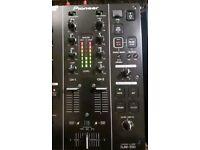 Pioneer djm 350 MINT, boxed dj pro mixer USB