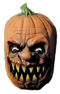 LATEX EVIL PUMPKIN JACK SCARY MASK OUTDOOR Halloween Decor Prop YARD HAUNT HOUSE](Scary Outdoor Halloween Props)