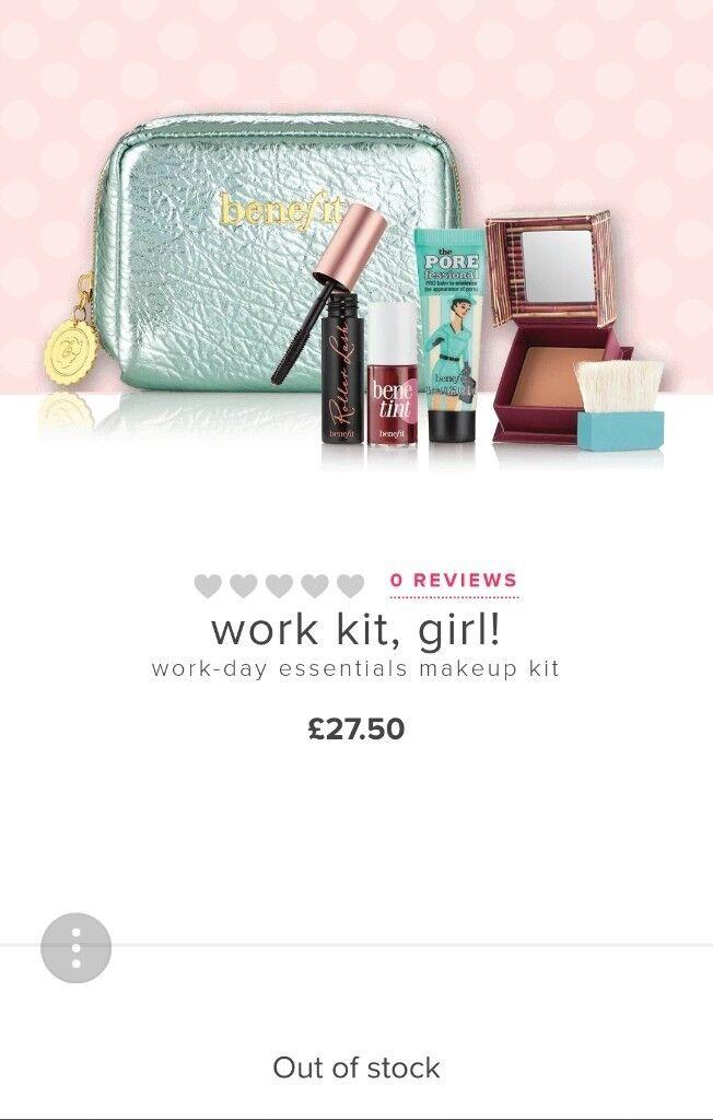 Benefit 'work it girl' Cosmetics Gift Set