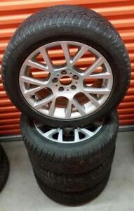 (H92) Pneus Hiver - Winter Tires 245-50-18 Dunlop RunFlat