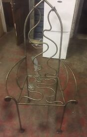 BESPOKE METAL GOTHIC STYLE CHAIR