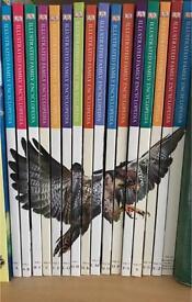 Full set of illustrated family encyclopaedias