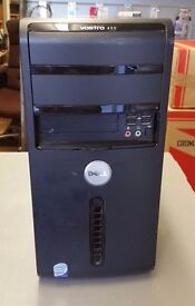 Quick windows 10 PC - Fast Intel Core 2 Duo 500GB 4GB Dell Vostro 400