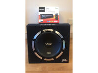 OPEN TO OFFERS - 1200 SUB & SONY BLUETOOTH AUDIO SYSTEM AUX USB IPOD