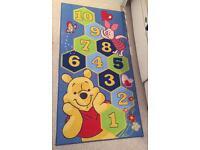 Winnie the Pooh hopscotch rug