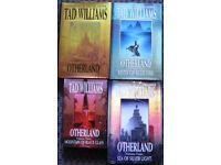 Tad Williams Otherland hardback books