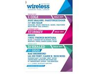 2X WIRELESS FESTIVAL TICKETS 2018 (FRI&SAT)