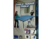 Brand new full size table tennis table