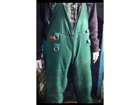 Sthil bib and brace chainsaw trousers