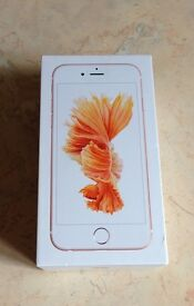 Apple iPhone 6s rose gold 16gb on Vodafone