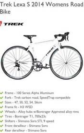 Trek lexa s c 2014 road bike 54cm