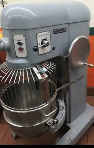 Hobart 60 qrt dough mixer with security guard and attachments for only $5695 ! Priced to sell !