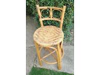 Single wicker chair