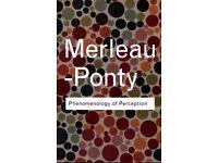 Half Price New Phenomenology of Perception Book by Maurice Merleau-Ponty