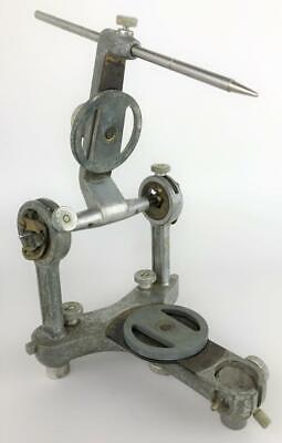 Vintage Old Hanau Dental Dentist Articulator Equipment Tool Frame W Extra Disks