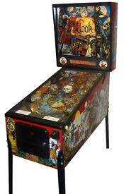 Original 1992 Hook Arcade Pinball Machine in Perfect Working Condition