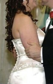 Bespoke Wedding Dress Oxford Boutique 14/16