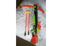Children's Crossbow with 2 arrows