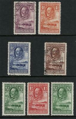 BECHUANALAND 1932 Group of 7   Mint & Used  Excellent Quality and Looking
