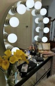 SALE SALE Cosmetic Vanity Hollywood Mirror with Bluetooth Speakers LED bulbs Dimmer Makeup Make Up Beauty Blogger Salon