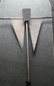 GOOD CONDITION BOAT YACHT ANCHOR 16Kg USED