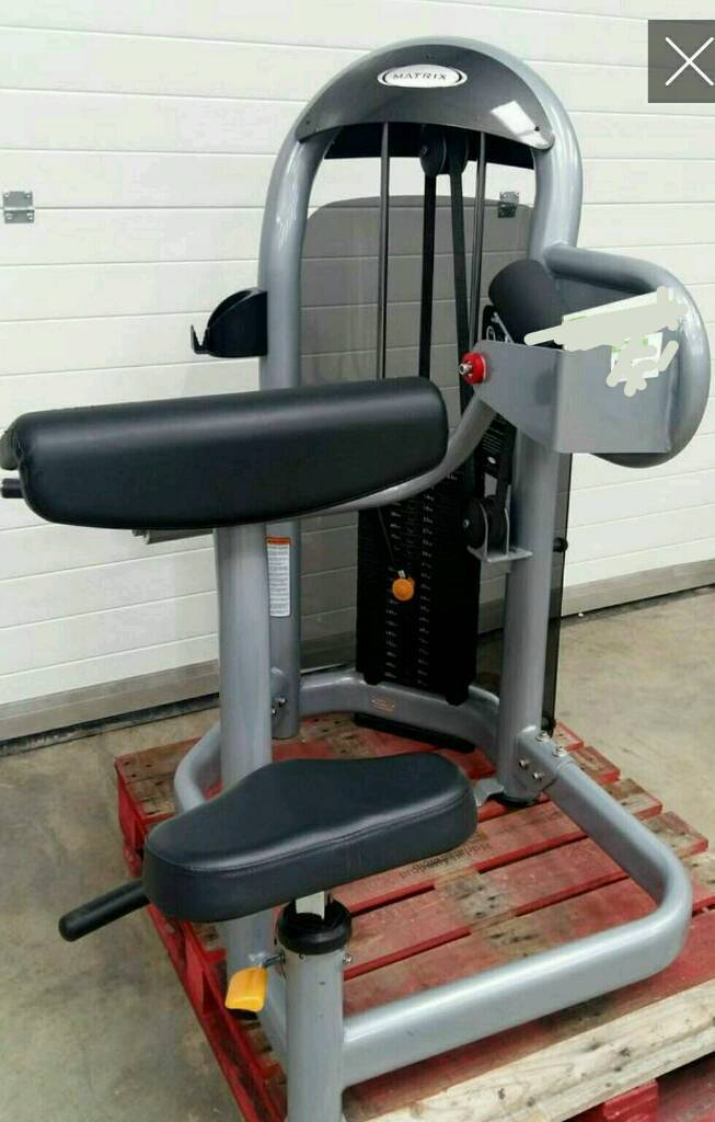 Matrix biceps and triceps machine * commercial weights dumbell treadmill bike