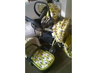 Cosatto Travel System Pushchair (Giggle 2) Treet Design.