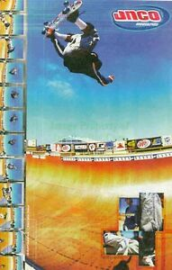 JNCO-Industries-Phil-Hajal-Skateboard-Half-Pipe-Great-Original-Photo-Print-Ad