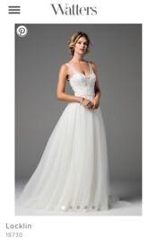Watters Wtoo Locklin Wedding dress UK16 BRAND NEW NEVER WORN