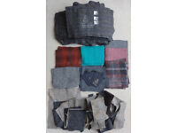 Large Job Lot Harris Tweed plus 3 labels and 6 orb swing tickets