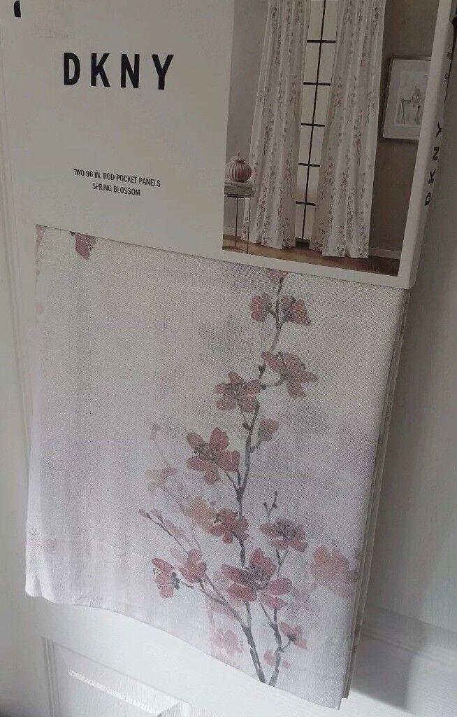Rod Pocket Panel Curtains Pair 5096 Inch 127143 Cm Brand New