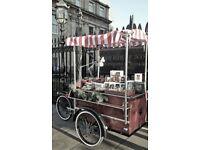 Vintage Transport Bike 'Apollo/Grolsch' Market Stall