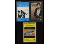 6 Bruce Springsteen cassettes for less than £3 each - £14 for all 6 tapes