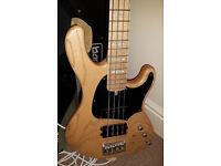 Active bass - Cort GB74, MM/J pickups, very light bass