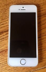 iPhone 5s 16GB Silver O2 network