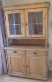 Eastern European Antique Pine Dresser