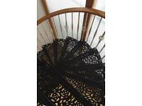 Spiral Victorian style staircase
