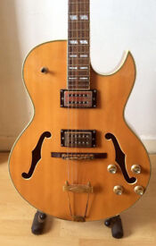 Jazz King by Indie Guitar Co. - Gibson ES 175 type Made in Korea MIK - Hollow Body Electric Guitar